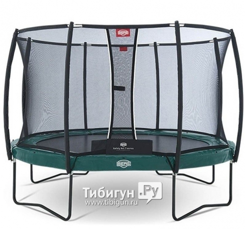 BERG Elite Green 330 + Safety Net Deluxe