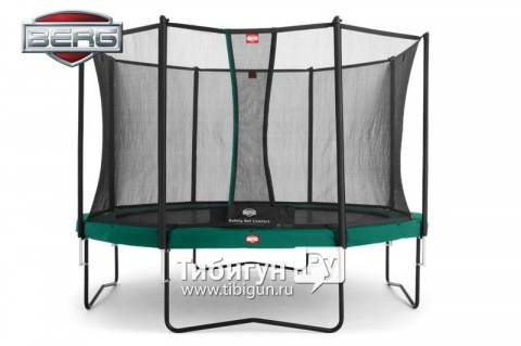 Батут BERG Champion 430 + Safety Net Comfort