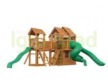 Деревянная детская площадка для дачи  Igragrad Великан 4 Макси (Домик)