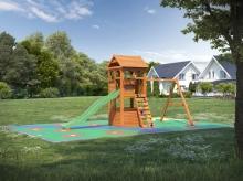 Деревянная детская площадка для дачи Igragrad Клубный Домик
