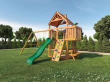 Деревянная детская площадка для дачи Igragrad Шато (Дерево)