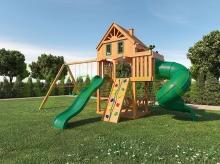 Деревянная детская площадка для дачи Igragrad