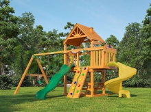 Деревянная детская площадка для дачи Igragrad Шато Sun (Дерево)