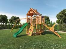 Деревянная детская площадка для дачи Igragrad Пиратский дом (Дерево)