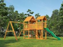 Деревянная детская площадка для дачи Igragrad Моряк (Дерево)