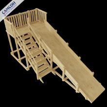 Детская деревянная горка Самсон Норильск