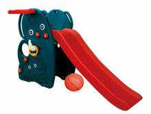 Детская горка Happy Box Слон  с баскетбольным кольцом и мячом