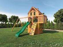 Деревянная детская площадка для дачи Igragrad Шато 2