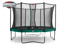 Батут BERG Favorit 380 + Safety Net Comfort