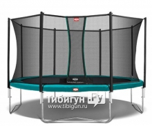 Батут BERG Favorit 430 + Safety Net Comfort
