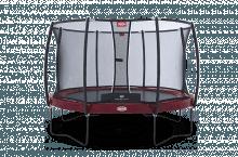 Батут Berg Elite (430см) красный + защ. сетка Comfort