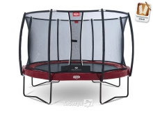 Батут BERG Elite Red 380 + Safety Net Deluxe