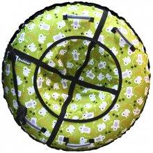 Тюбинг Hubster Люкс Мишки зеленые 105