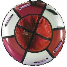 Тюбинг Hubster Классик 120 красный-серебро
