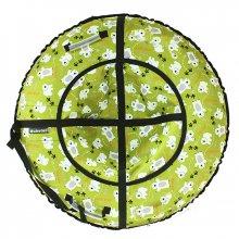 Тюбинг Hubster Люкс Мишки зеленые 90