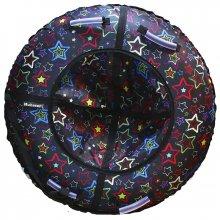 Тюбинг Hubster Люкс Звезды черные 105