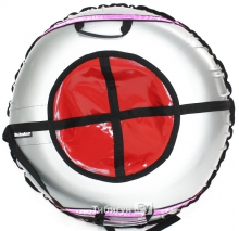 Тюбинг Hubster Ринг Plus Flash серый-красный 120 см