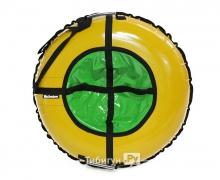 Тюбинг Hubster Ринг желтый-зеленый 90 см