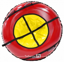 Тюбинг Hubster Ринг Plus красный-желтый 120 см