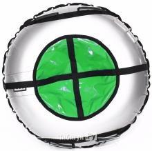Тюбинг Hubster Ринг Plus серый-зеленый 120 см