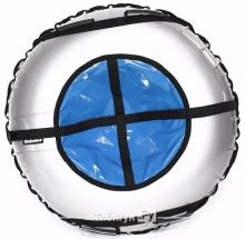 Тюбинг Hubster Ринг Plus серый-синий 105 см