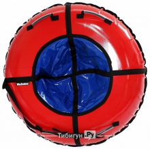 Тюбинг Hubster Ринг красный-синий 90 см