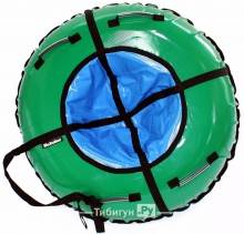 Тюбинг Hubster Ринг зеленый-синий 105 см