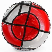 Тюбинг Hubster Sport Plus красный/серый 120 см