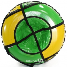 Тюбинг Hubster Sport Plus желтый/зеленый 105 см