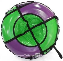 Тюбинг Hubster Sport Plus фиолетовый/зеленый 90 см