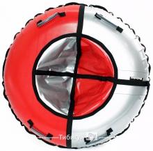 Тюбинг Hubster Sport красный/серый 120 см