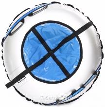 Тюбинг Hubster Ринг Plus Flash серый-синий 105 см