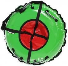 Тюбинг Hubster Ринг зеленый-красный 120 см