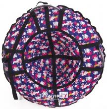 Тюбинг Hubster Люкс Pro Flowers 65 см