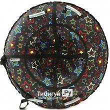 Тюбинг Hubster Люкс Pro Звезды черные 135 см