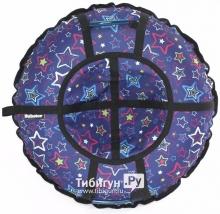 Тюбинг Hubster Люкс Pro Звезды Синие 65 см