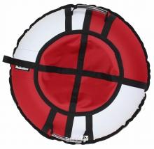 Тюбинг Hubster Хайп красный/белый 105 см