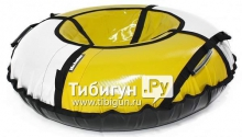 Тюбинг Hubster Sport Plus серый/желтый 105см