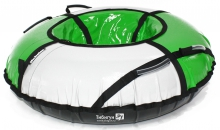 Тюбинг Hubster Sport Plus серый/зеленый 105см