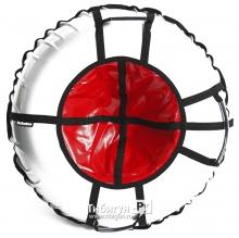 Тюбинг Hubster Ринг Pro серый-красный 90см
