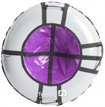 Тюбинг Hubster Ринг Pro серый-фиолетовый 90см