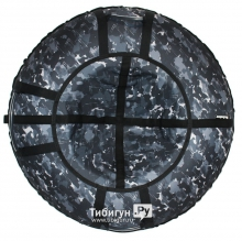 Тюбинг Hubster Люкс Pro Камуфляж черный 110 см