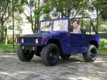 Детский джип Simbel Hummster