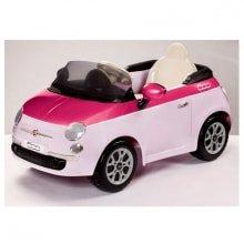 Детский электромобиль Peg-Perego Fiat 500 pink