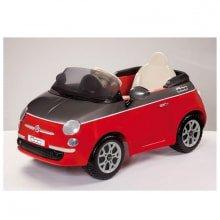 Детский электромобиль Peg Perego Fiat 500 Red