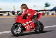 Электромобиль Peg-Perego Ducati GP 24V