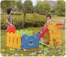 Детский игровой комплекс с сухим бассейном Vasia VS 714