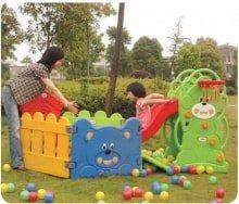 Детский игровой комплекс с сухим бассейном vasia VS-702