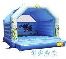 Надувной батут  для детей Happy Hop PRO 1012