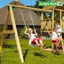 Модуль качели Jungle Gym Swing (с сидушками)